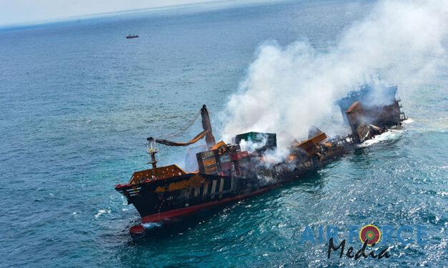 X-Press Pearl sinking, environmental impact mounts