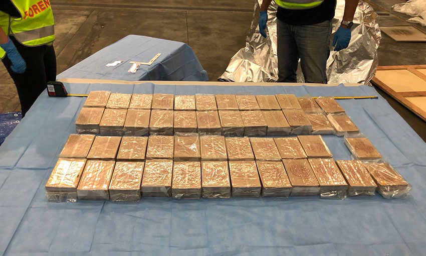 Smuggled heroin found in shipping container at Freo