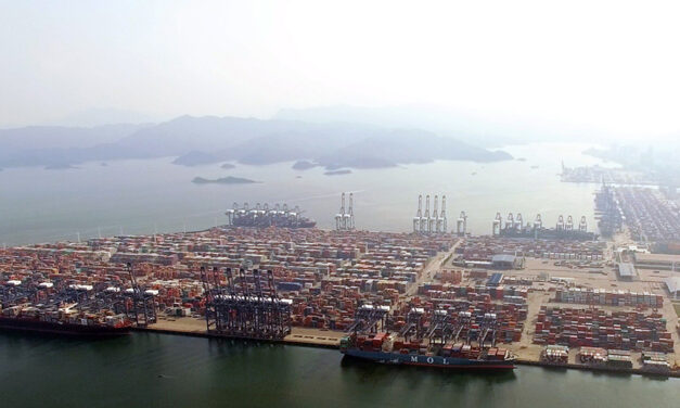 Port congestion in southern China continues to worsen