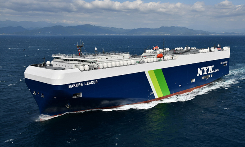 NYK orders 12 LNG-fuelled ro-ro vessels