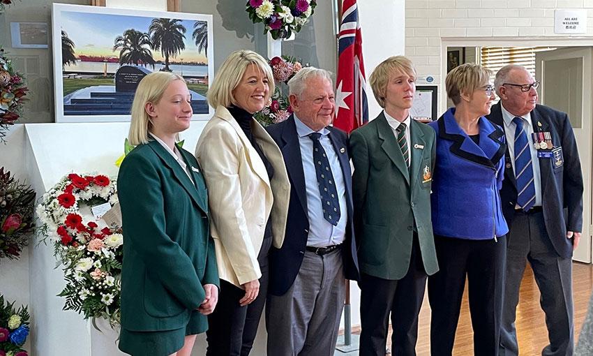 Merchant mariner memorial service held at Newcastle