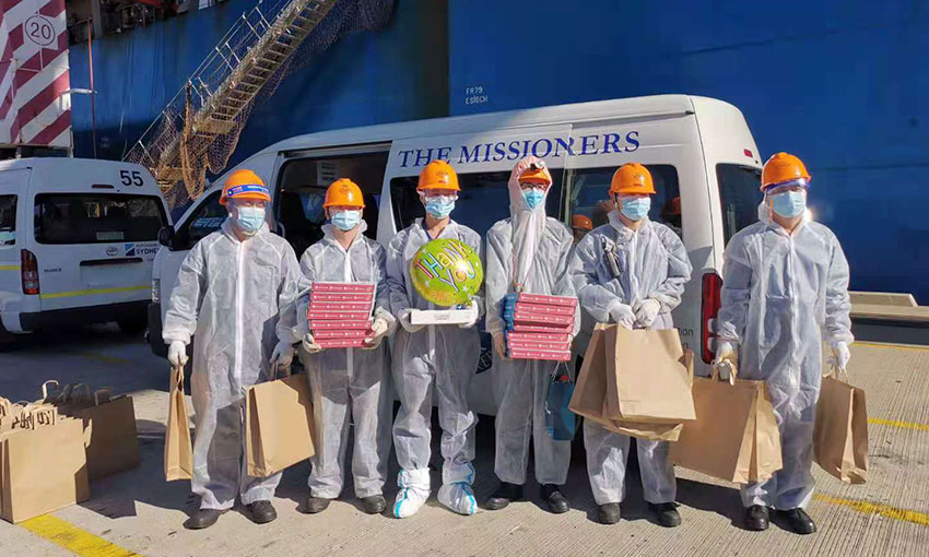 Day of the Seafarer Mission to Seafarers