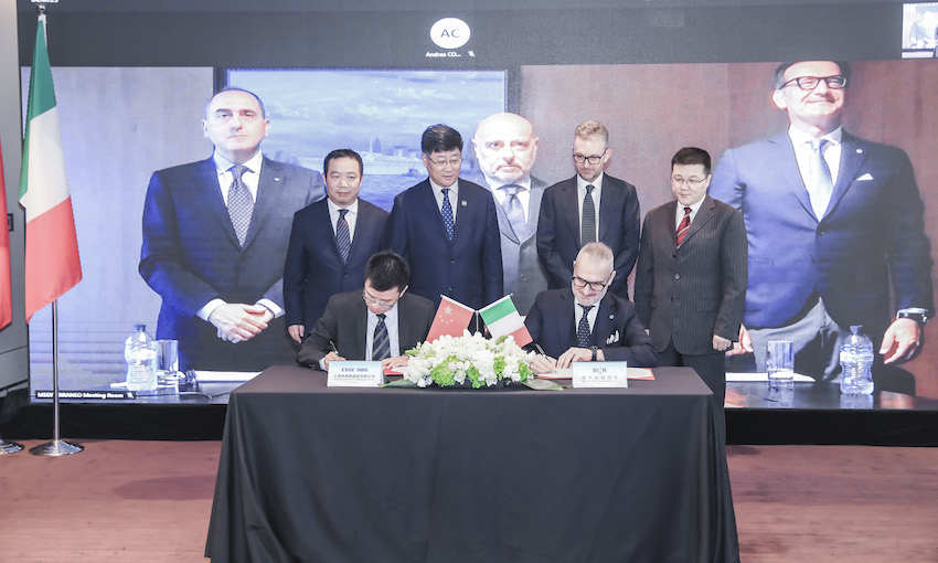 RINA and SWS mark a new era in shipbuilding in China