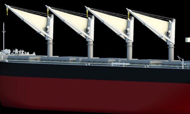 MOL jointly develops new energy-saving sail