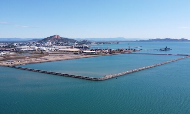Townsville Port reaches milestone in upgrade project