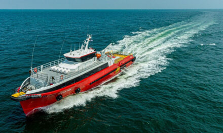 Strategic Marine delivers fast crew boat