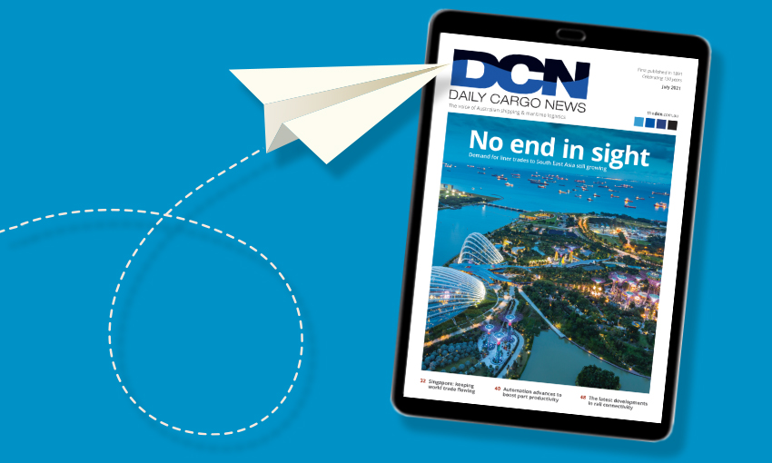 DCN Magazine July edition: Feature Focus – Liner trades to South East Asia