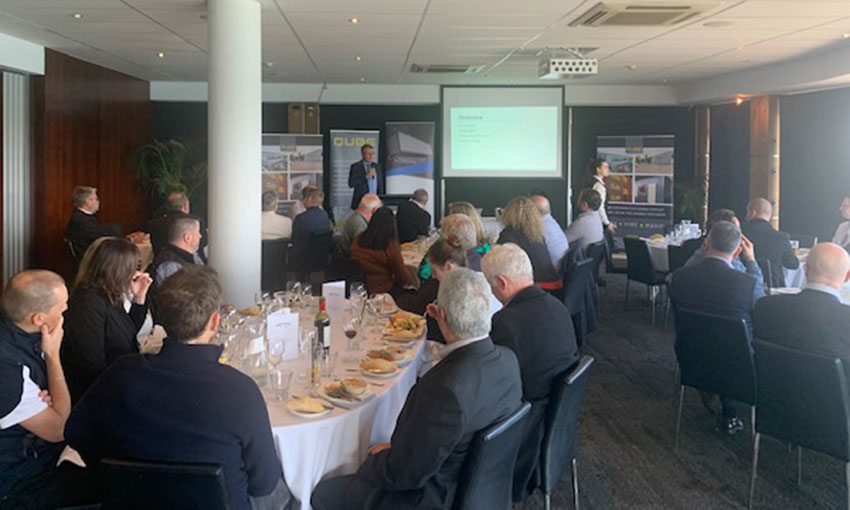 Freight for lunch at ICHCA South Australia industry event