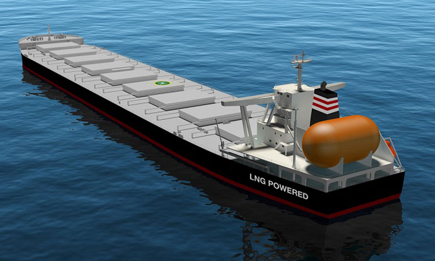 NYK to build its first LNG-fuelled capsize bulker
