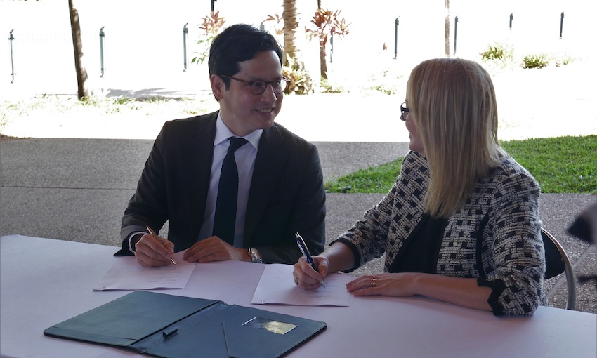 Townsville port signs agreement for hydrogen export
