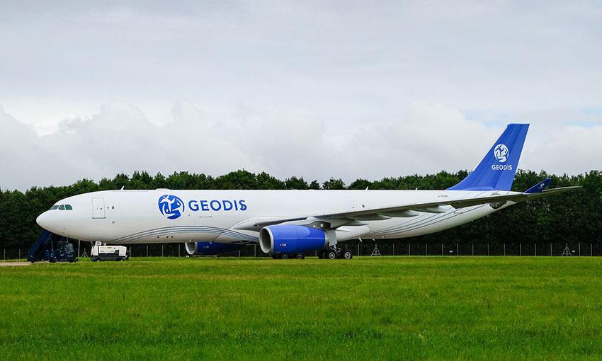 Geodis leases aeroplane