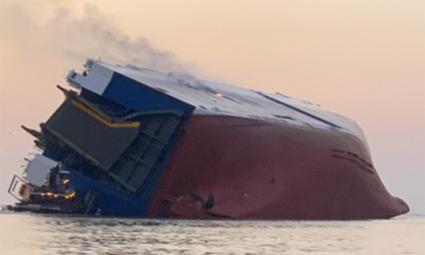 NTSB determines inaccurate stability calculations caused Golden Ray to capsize