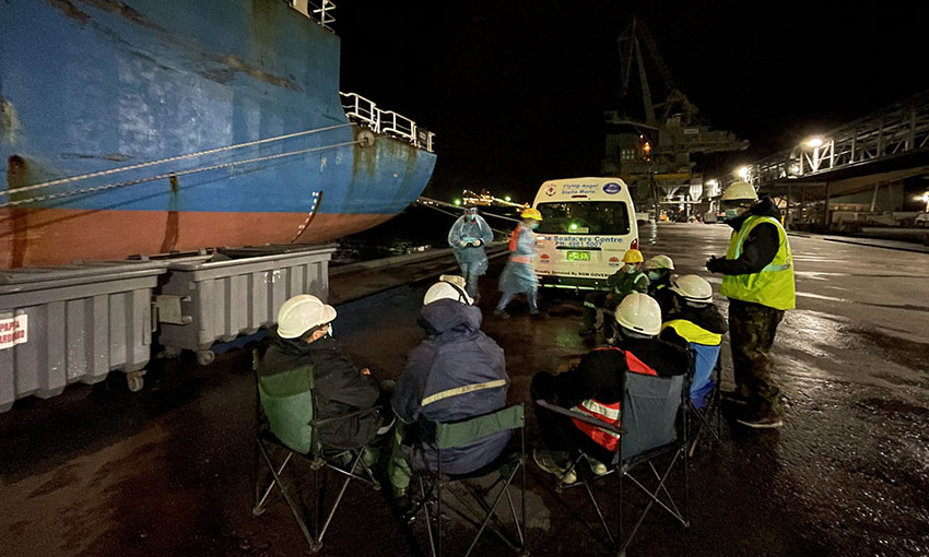 Mission to Seafarers vaccinates crewmembers in Newcastle and Brisbane