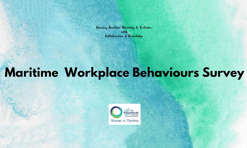 Maritime Workplace Behaviours Survey