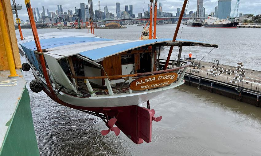 Alma Doepel floats again