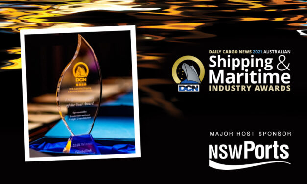 nominatE now for the 2021 DCN Australian Shipping & Maritime Industry Awards