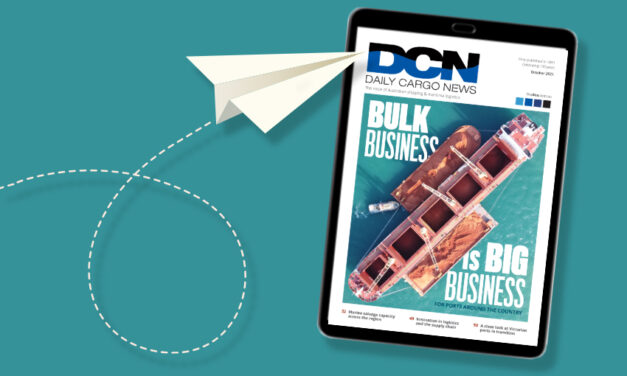 DCN Magazine October edition: Feature Focus – Bulk ports and trades